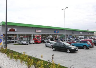 Pawilony handlowe – Łódź
