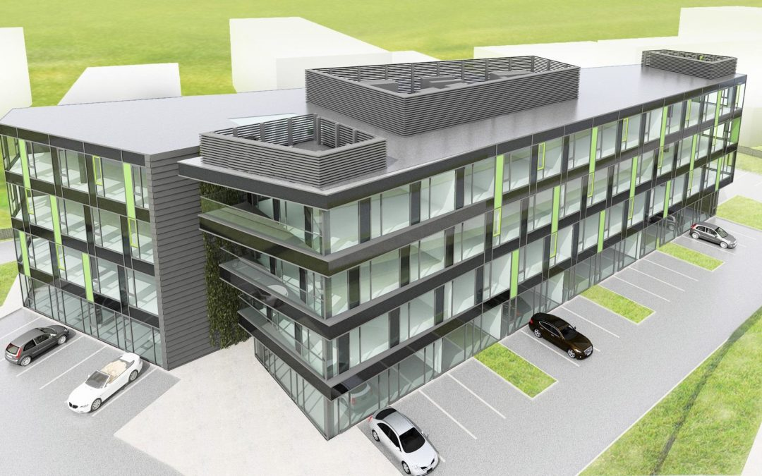 Budynek biurowy – Wrocław